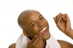 """""""I am PSYCHED about flossing!"""""""