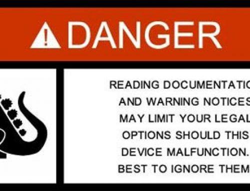 Warning Labels for Pop