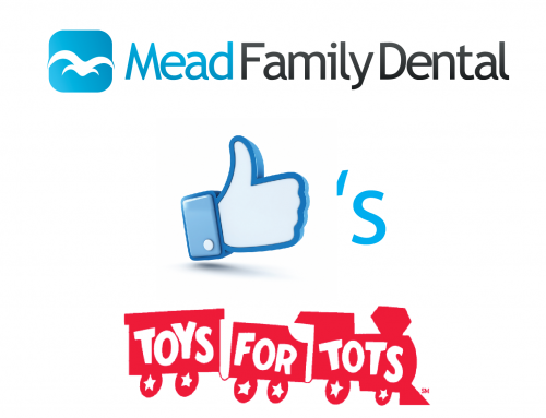 "Mead Family Dental ""likes"" Toys for Tots!"